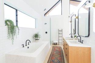 Phòng tắm đơn giản hiện đại