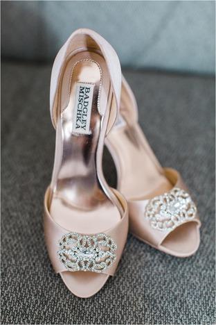 Giày cưới sang trọng cho nàng dâu
