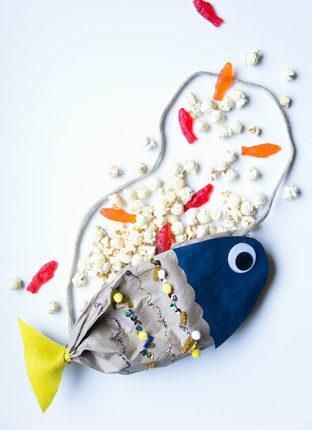 Túi đeo hình cá xinh yêu cho bé