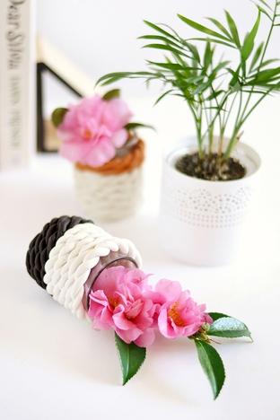 Làm lọ hoa trang trí độc đáo và sáng tạo