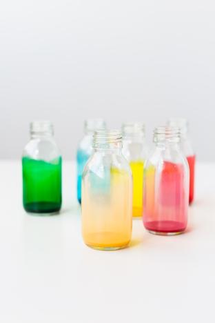 F5 cho những chai thủy tinh nhiều màu