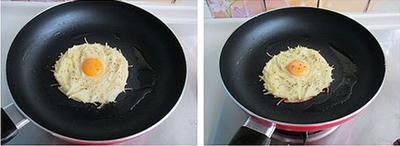 làm bánh trứng tổ chim 4 bước làm bánh trứng tổ chim ngon mắt cho bữa sáng banh trung 5 76d3c