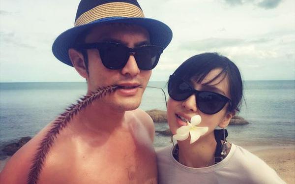 Angelababy đã sinh quý tử đầu lòng cho Huỳnh Hiểu Minh sau hơn 1 năm kết hôn