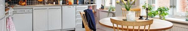 Bàn tròn – lựa chọn tuyệt hảo cho căn bếp nhỏ