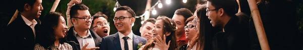 """Đám cưới siêu xinh tại khu vườn màu xanh của cặp đôi từng """"ngầm hẹn ước"""" dưới mưa sao băng"""