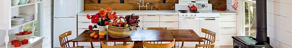 Cập nhật xu hướng năm mới cho phòng bếp từ chất liệu gỗ tự nhiên