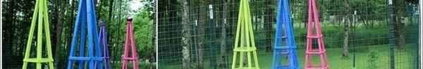 12 kiểu hàng rào cực xinh bạn có thể tự làm để trang trí cho khu vườn nhà