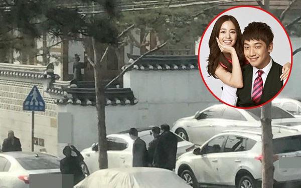 Những hình ảnh đầu tiên trong đám cưới của Kim Tae Hee và Bi Rain