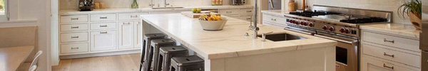 Bàn ăn dáng dài kết hợp chất liệu gạch đá, kỉ nguyên mới cho những nhà bếp theo phong cách hiện đại