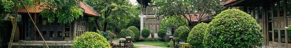 Nhà vườn mang đậm hồn Việt giữa lòng Sài Gòn của Á hậu quý bà Thu Hương