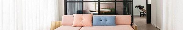 Lâu lắm rồi mới lại thấy một căn hộ sử dụng gam màu hồng pastel khéo léo và đẹp mắt đến thế