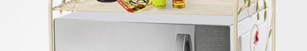 13 mẫu giá kệ để lò vi sóng tiện dụng cho nhà bếp nhỏ