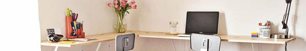 Những mẫu bàn làm việc đa năng cho văn phòng tại gia