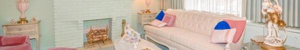 Ngỡ ngàng với ngôi nhà có nội thất toàn màu hồng của chủ nhân gần 100 tuổi