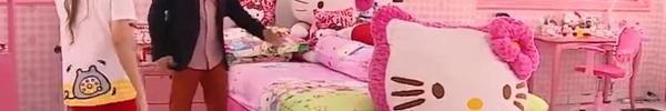 Ngất ngây với ngôi nhà trang trí từ A đến Z toàn hình tượng chú mèo Hello Kitty