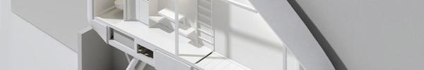 Thiết kế nội thất cực ấn tượng trong ngôi nhà hẹp nhất thế giới