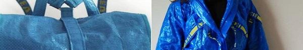 Quên vải vóc đi, giờ người ta còn dùng cả bao tải để may quần áo như thế này cơ