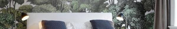 Những mẫu giấy dán tường đẹp giúp đem cả thiên nhiên vào trong phòng ngủ