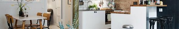 Căn hộ 47m² của cặp đôi mới cưới đẹp thanh lịch và hiện đại nhờ trang trí theo phong cách Scandinavian