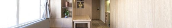 Căn hộ nhỏ đến mấy mà có thiết kế cửa trượt thông minh thì vẫn đẹp và tiện nghi như thường