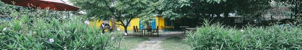 Có một chốn gần với thiên nhiên ngay ở Hà Nội, bố mẹ được thư giãn ăn ngon, trẻ con thì tha hồ chạy nhảy