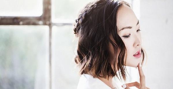 Làm điệu với 3 kiểu tết cực đơn giản dành cho các nàng tóc ngắn