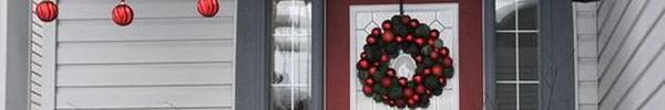 Những ý tưởng trang trí mặt tiền cho ngôi nhà đón Noel