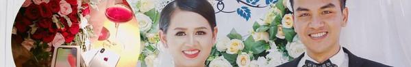 """Đằng sau hoa tươi và IphoneX chồng tặng vợ kỷ niệm 1 tháng ngày cưới sốt MXH là 9 năm """"tình đầu cũng là tình cuối"""""""