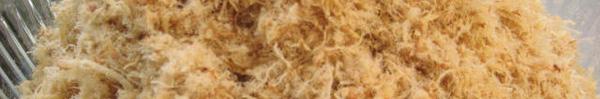 Ruốc siêu rẻ sản xuất từ thịt trộn dung dịch và bột trắng: Thận trọng nhận biết để không rước bệnh vào người