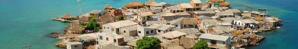 Hòn đảo nhỏ chỉ như sân bóng mà có tới 1.200 người sinh sống