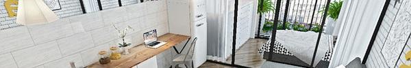 Tư vấn thiết kế căn hộ studio 45m² cho vợ chồng trẻ với tổng chi phí không quá 54 triệu đồng