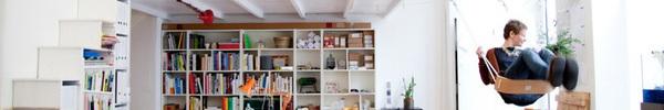Những cách sáng tạo để sử dụng xích đu trong thiết kế nội thất