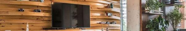 Độc đáo, lạ mắt lại vô cùng ấm áp ngay khi nhìn thấy: 10 phòng khách với thiết kế bức tường gỗ này sẽ chinh phục bạn