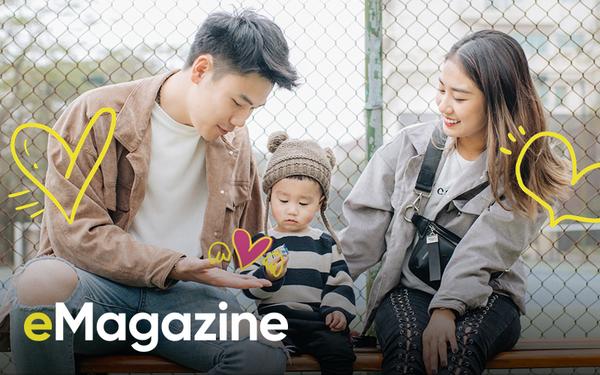 """""""Hot family"""" Trang Lou & Tùng Sơn: Kết hôn sớm, chúng mình có thêm """"bạn đồng hành"""" nhí để đi khắp thế gian"""