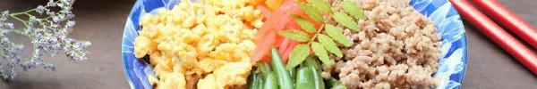 Bữa trưa ngon lạ với cơm trộn ngũ sắc kiểu Nhật
