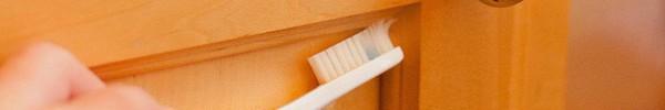 Tôi đã khám phá ra cách làm sạch tủ bếp bằng gỗ chỉ trong tích tắc với 5 bước đơn giản
