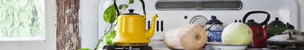 Sử dụng phụ kiện bếp theo phong cách retro chưa bao giờ là lỗi mốt