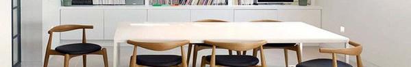 Bàn ăn màu trắng - Đơn giản và phù hợp với mọi phong cách trang trí nhà