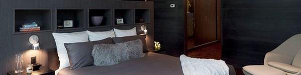 Tiết kiệm diện tích phòng ngủ nhờ lưu trữ thông minh ở đầu giường