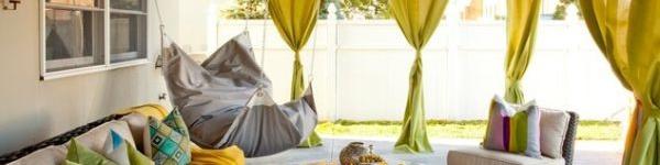 Ghế treo – món nội thất độc đáo giúp nhà thêm xinh