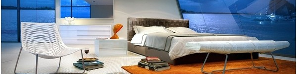 Mê mẩn với những phòng ngủ đầy sáng tạo của tương lai