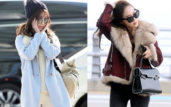 Học cách sao Hàn kết hợp đồ ấm áp, thời thượng trong những ngày gió mùa lạnh giá