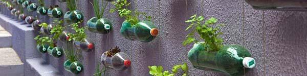 Ý tưởng độc đáo biến chai nhựa cũ thành đồ vật hữu ích trong nhà