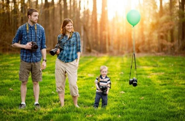 Độc đáo cách chia sẻ niềm vui mang bầu 13
