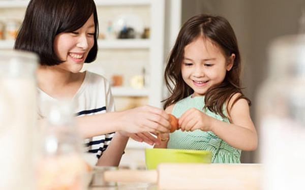 Dạy con kỹ năng làm việc nhà