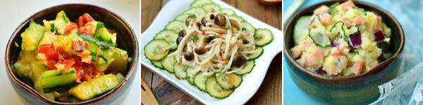 3 món salad dưa leo làm siêu tốc giúp bạn giảm cân!