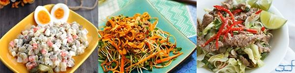 Công thức 6 món salad ngon nhất định phải làm vào mùa hè