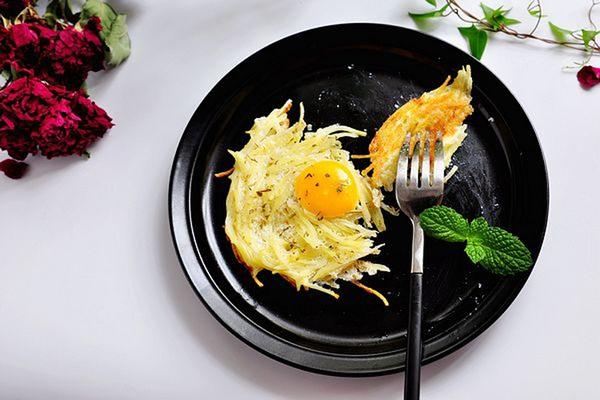 làm bánh trứng tổ chim 4 bước làm bánh trứng tổ chim ngon mắt cho bữa sáng banh trung 6 76d3c