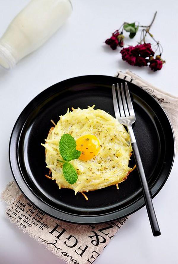 làm bánh trứng tổ chim 4 bước làm bánh trứng tổ chim ngon mắt cho bữa sáng banh trung 7 76d3c