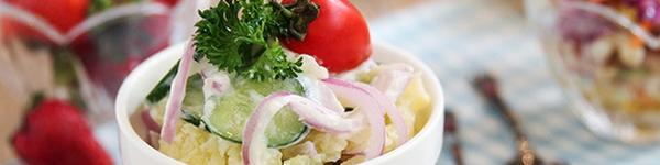 Salad khoai tây hoàn hảo cho thực đơn giảm cân